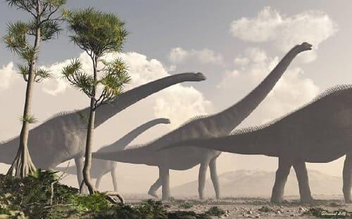 Sauroposeidon Dinosaurier