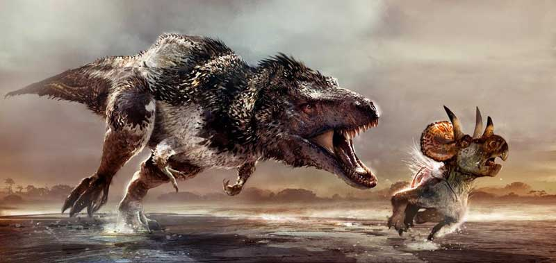Triassische Fleischfresser