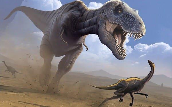 fleischfressende Dinosaurier